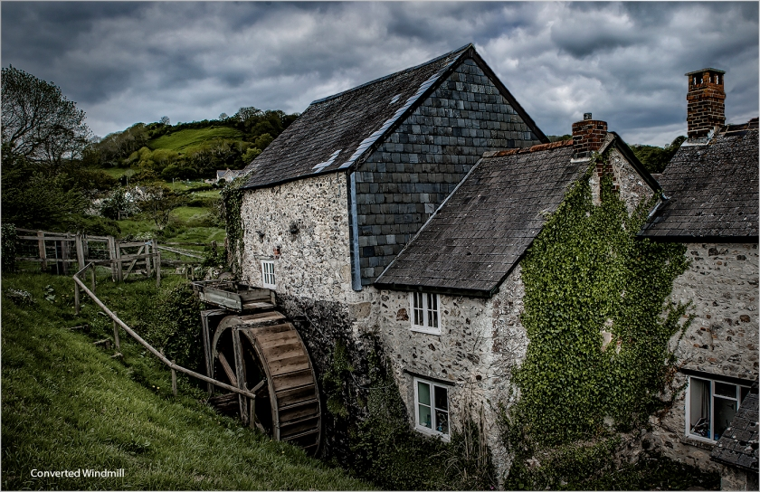 Converted Water Mill by Malcolm Leach