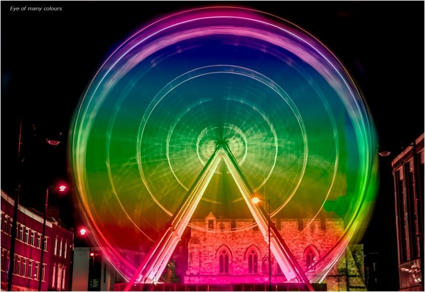 Rainbow Eye by Jackie Hargreaves