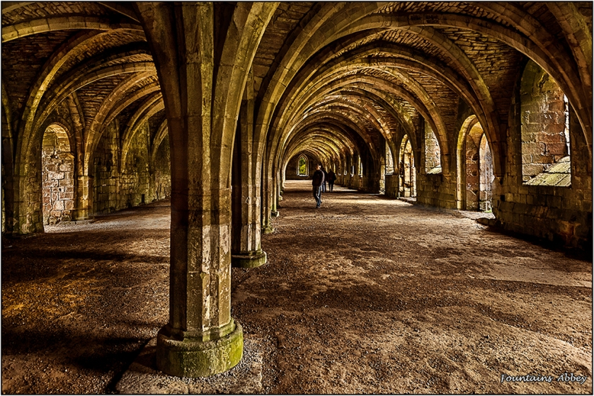 Fountains Abbey by Malcolm Leach