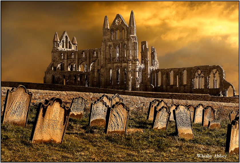 Whitby Abbey by Malcolm Leach