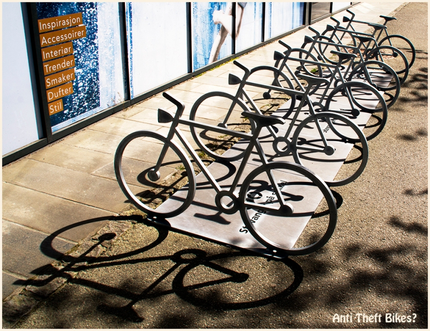 Anti Theft Bikes by Kevin Cann