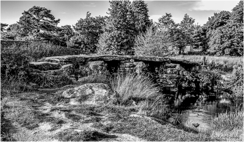 Slate Bridge by Malcolm Leach