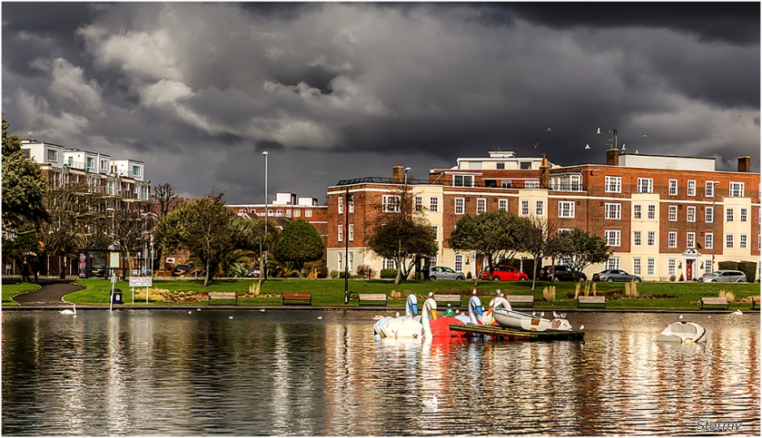 Stormy by Malcolm Leach