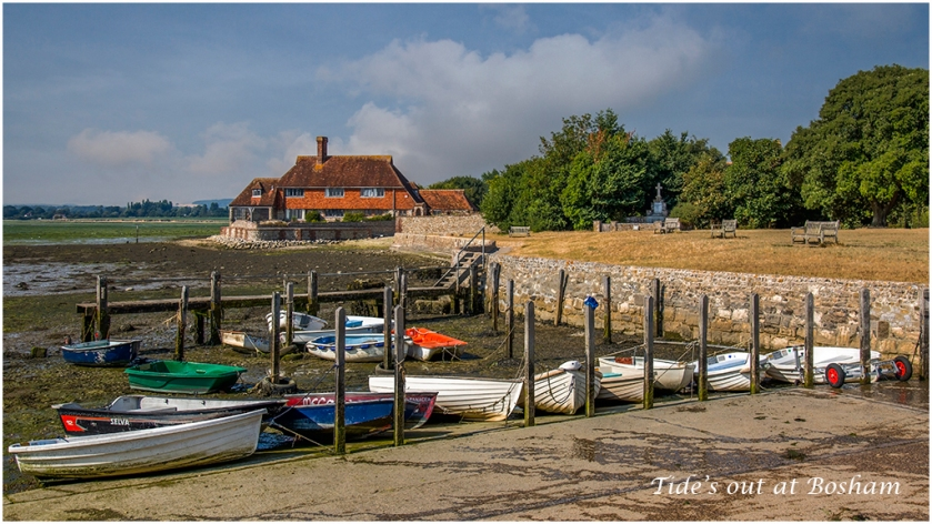 Tide's Out At Bosham by Trudy Biles